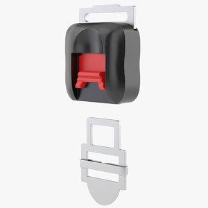 3D buckle