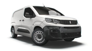 peugeot partner uk-spec professional 3D model