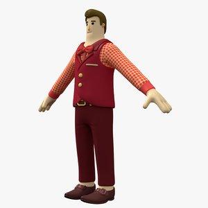 man character model
