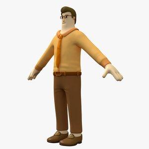 man character 3D