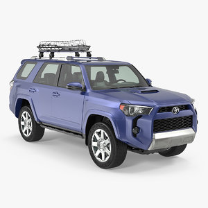 3D toyota 4runner thule canyon