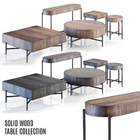 Pottery Barn - Fargo Rustic Solid Table Collection