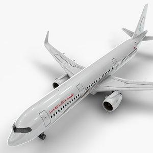 3D a321 neo royal air model