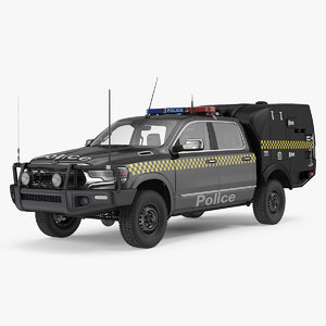 3D prisoner transport vehicle model