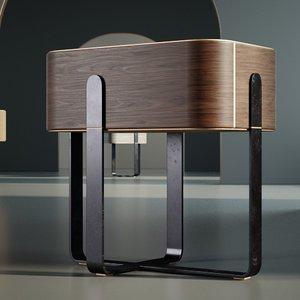 bedside cabinet 3D model