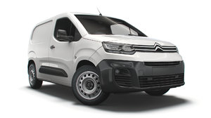3D model citroen berlingo enterprise m