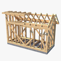 Tiny House Wooden Framework Project