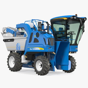 3D new holland braud 9090x model
