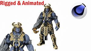 ancient warrior 3D