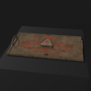 3D carving ouija board
