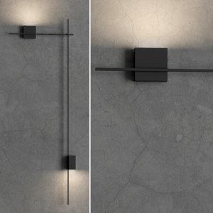 3D direct wall light