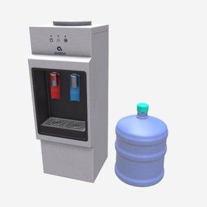 water cooler cooling 3D model