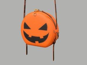 3D bag halloween purse model