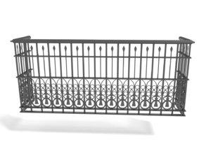 3D railing - balcony