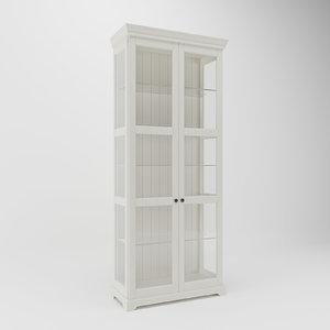 3D model shelf bookcase bookshelf