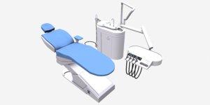 3D dental chair