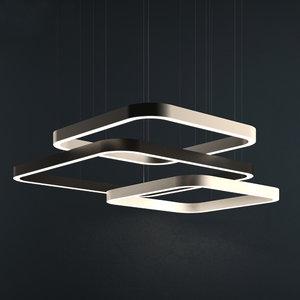frame ceiling lamp 3D