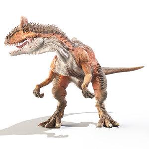 cryolophosaurus cryolophosauro 3D model