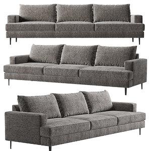 3D sofa bozule kaza
