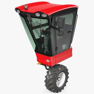 harvester vehicle cabin cab model