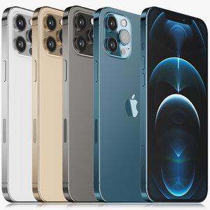 apple iphone 12 pro 3D model