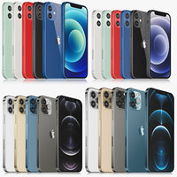 Apple iPhone 12 mini  and 12 and 12 pro and 12 pro MAX all colors