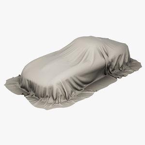 3D model car cover