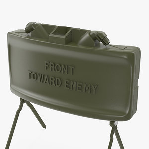 3D m18a1 claymore anti personnel