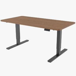 standing desk 3D model