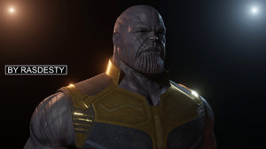 marvel character thanos model