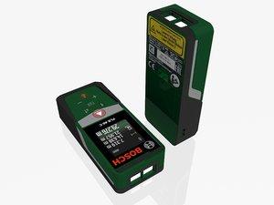 3D model bosch plr 40c laser