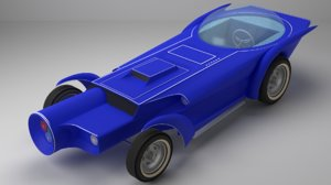 orbitron cars 3D model