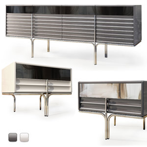 3D console sideboard royal