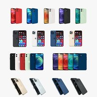 iPhone 12 All colors and models Collection