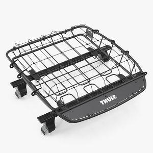 roof basket thule canyon 3D
