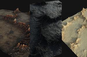 terrain landscape land model