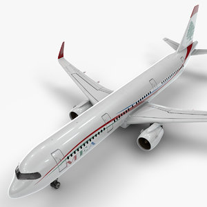 3D a321 neo mea airlines model