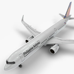 a321 neo philippine airlines 3D model