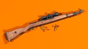 3D gun kar98k