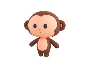 monkey character 3D
