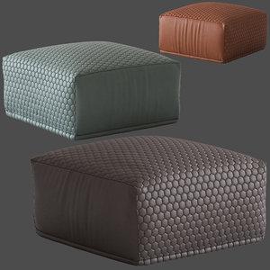 3D linea furniture square tahila model