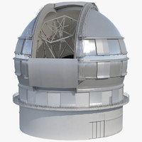 Dome Telescope Rigged