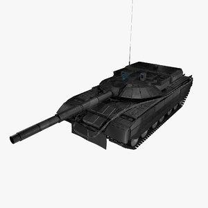 russian tank object 640 model