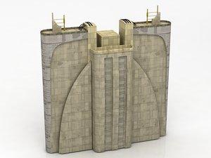 3D star wars architecture corus model