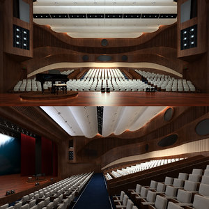 3D model musical opera