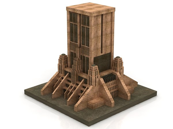 Star wars architecture sci-fi building 3D - TurboSquid 1642236