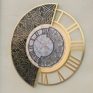 3D decorated wall clock