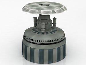 star wars architecture corus 3D model