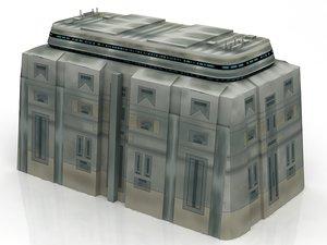 star wars architecture corus 3D