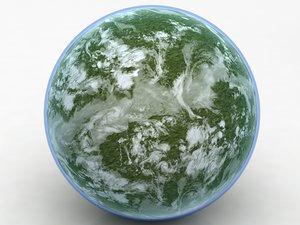 star wars planet earth mars model